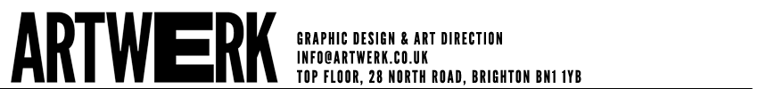 Artwerk Graphic Design, Brighton